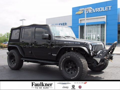 Pre-Owned 2016 Jeep Wrangler Unlimited Rubicon 4WD Convertible