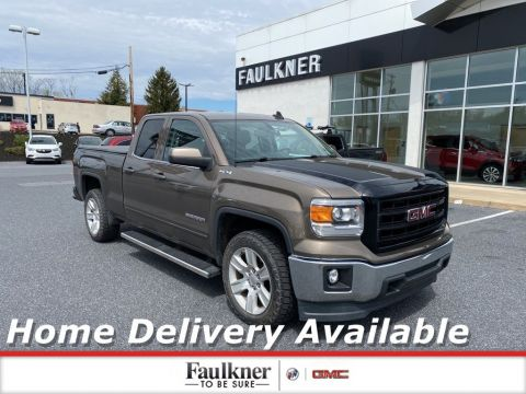 Pre-Owned 2015 GMC Sierra 1500 SLE 4WD Extended Cab Pickup