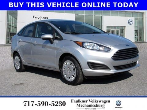 Pre-Owned 2017 Ford Fiesta S FWD 4dr Car