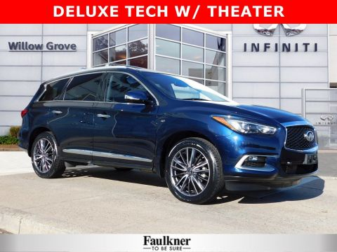 Certified Pre-Owned 2016 INFINITI QX60 Base AWD Sport Utility