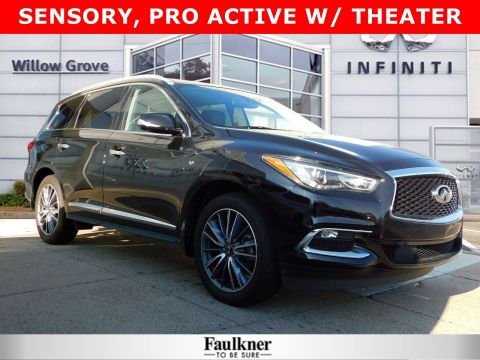 Certified Pre-Owned 2019 INFINITI QX60 LUXE AWD Sport Utility