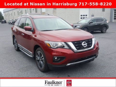 Pre-Owned 2019 Nissan Pathfinder Platinum 4WD Sport Utility