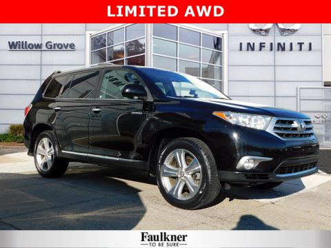 Pre-Owned 2012 Toyota Highlander Limited 4WD Sport Utility