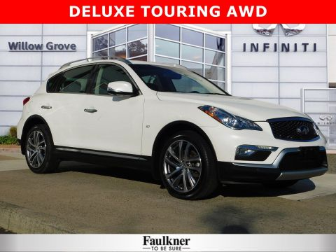 Certified Pre-Owned 2017 INFINITI QX50 Base AWD Sport Utility