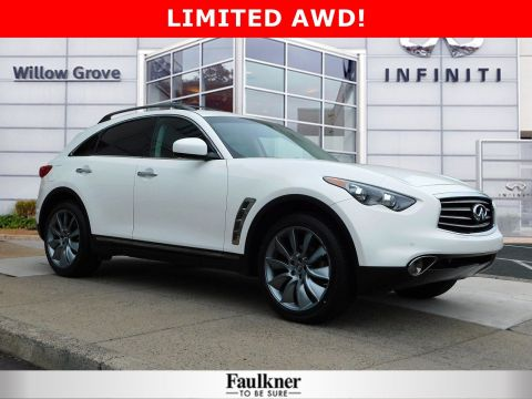 Pre-Owned 2013 INFINITI FX37 Limited Edition AWD Sport Utility