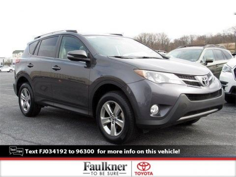 Pre-Owned 2015 Toyota RAV4 XLE AWD Sport Utility