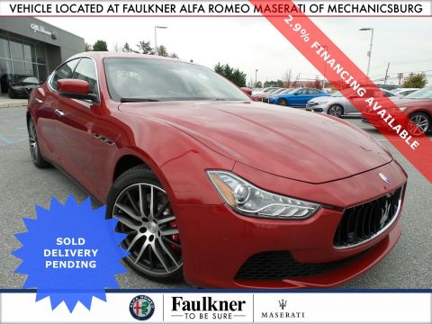 Certified Pre-Owned 2016 Maserati Ghibli S Q4 AWD 4dr Car